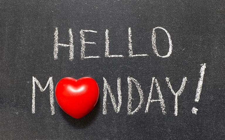 เปลี่ยนวันจันทร์ให้เป็นวันเริ่มงานต้นสัปดาห์ที่มีความสุข