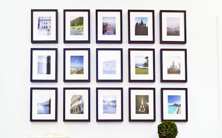 แต่งบ้านสวยด้วยกรอบรูป