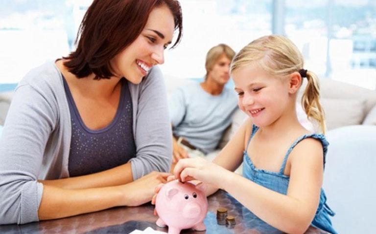 สอนลูกให้ออมเงิน