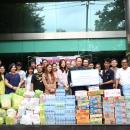 บริจาค โนนไทยทีม ช่วยน้ำท่วมภาคอีสาน