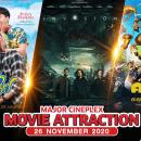 หนังเข้าใหม่ประจำสัปดาห์ที่ 26 พฤศจิกายน 2563