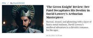 Green Knight The Atlantic